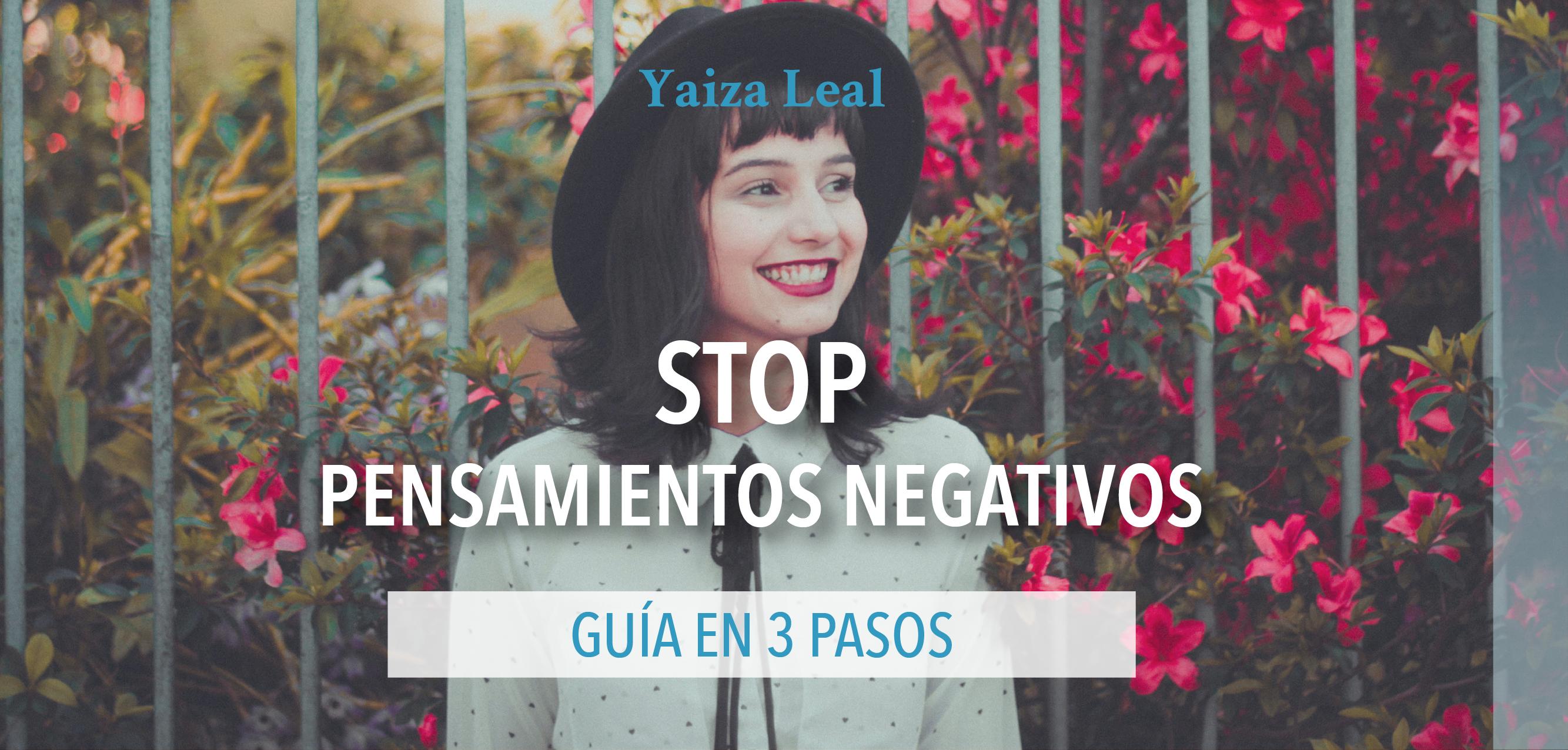 Stop pensamientos negativos